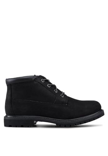 Timberland black Nellie Chukka Double Waterproof Boots 0FF02SH6B5372CGS_1