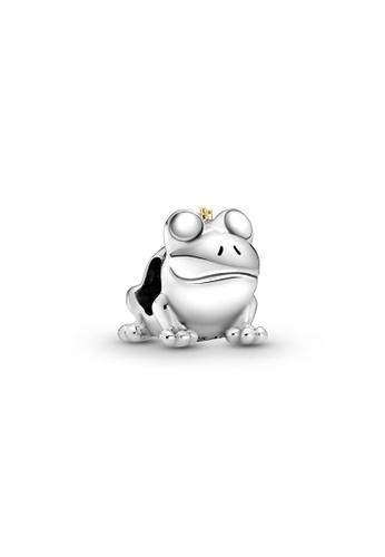 Pandora silver Two-Tone Frog Prince Charm BE2AFAC8334B9FGS_1