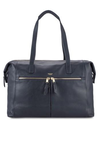 Curzon 15吋zalora 衣服評價折疊邊托特包, 包, 包