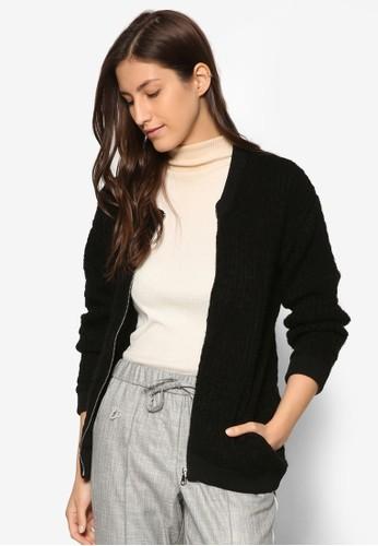 簡約棒球外套, 服飾, 棒球外zalora 衣服尺寸套