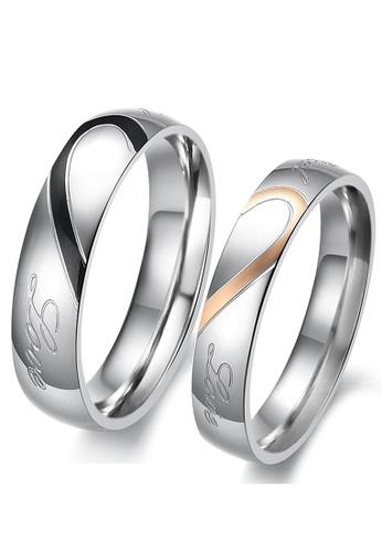 Trendyshop multi Matching Heart Couple Rings Set F7D56AC74D0DFDGS_1