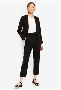 e6dfcb91fd ZALORA BASICS Basic Tailored Pants S$ 29.90. Sizes XS S M L XL