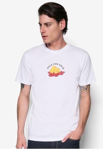 『出售黃金』圖文設esprit 台中計TEE, 服飾, T恤