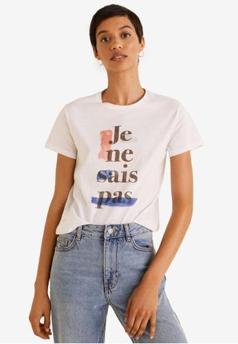 71f5b6c424c Shop Mango Printed Image T-Shirt Online on ZALORA Philippines