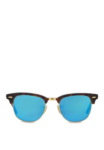 Ray-Ban Clubmaster RB3016 Sunglasses RA370GL65RZISG_1
