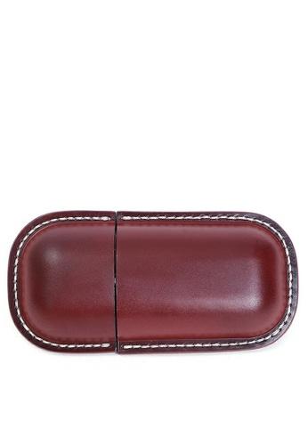 Twenty Eight Shoes Handmade Leather Glasses Case QYE103 010D0ACB3E1AF8GS_1