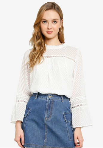 ONLY white Annelena 7/8 Top 9377AAAAA5D2FAGS_1