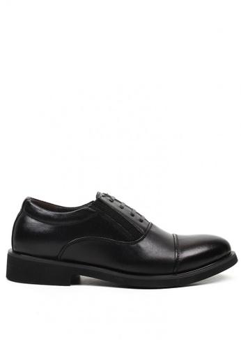 London Fashion black Franco 2333 Formal Leather Shoes for Men LO229SH0JGBHPH_1