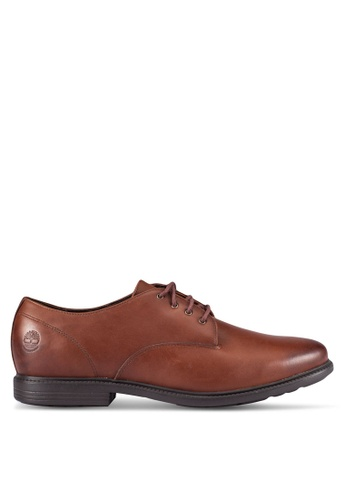Timberland brown Arden Heights Waterproof Oxford Shoes TI063SH0RP7NMY_1