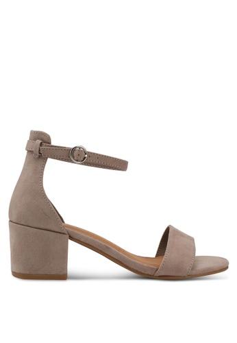 Rubi brown Ivy Low Block Heels 580B8SHAA29064GS_1