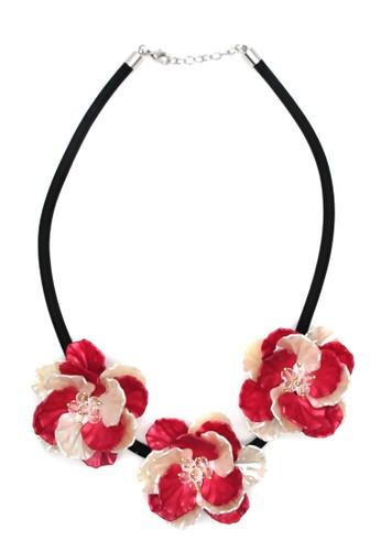 Istana Accessories Serli Flower Fashion Necklace