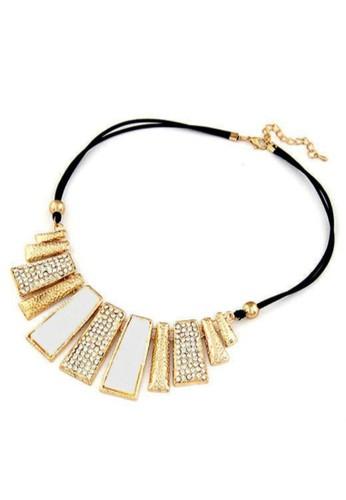 Tiaria black Tiaria Washed Vintage Necklace Aksesoris Kalung Wanita VN001-W--K09 23B24ACB4807BDGS_1