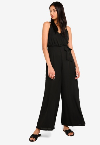 d128288ed39 Shop Cotton On Woven Sully Strappy Wrap Jumpsuit Online on ZALORA ...