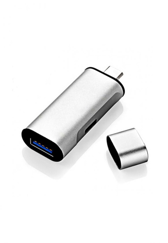 Latest Gadget black and silver Type-C To USB 3.0 Adapter 7DC9AAC8AD7E82GS_1