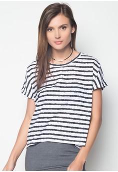 Long Back Stripes Top