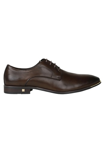 Tomaz brown Tomaz F095 Lace Up Formal (Coffee) TO717SH0RPNAMY_1