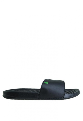 BENCH black Rubber Slippers BE550SH0KFQDPH_1