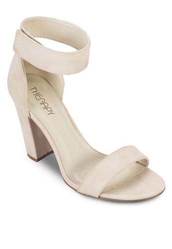 Portland 魔術顫繞踝粗跟鞋, esprit outlet 香港女鞋, 鞋