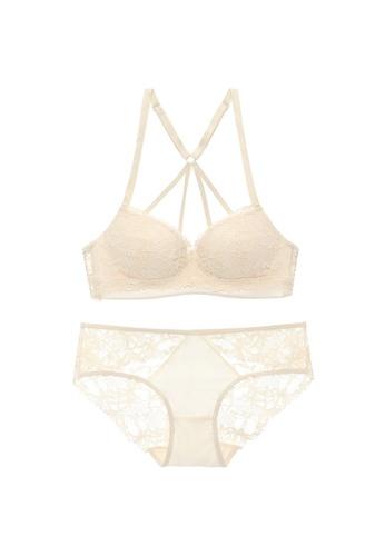 Midnight 白色 Premium Lace White Lingerie Set (Bra and Underwear) 965D7US2030980GS_1