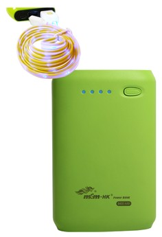 MSM HK Powerbank 8400mAh With FREE Bavin 1m LED USB Cable for Smartphone