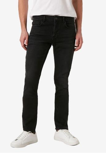 LC Waikiki black 750 Slim Fit Jeans DB82AAAF97D2EBGS_1