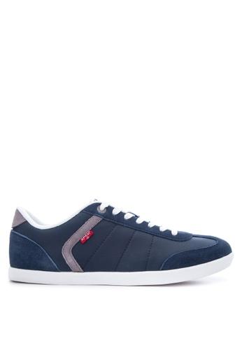Levi's blue Loch Sneakers LE892SH15PTGPH_1