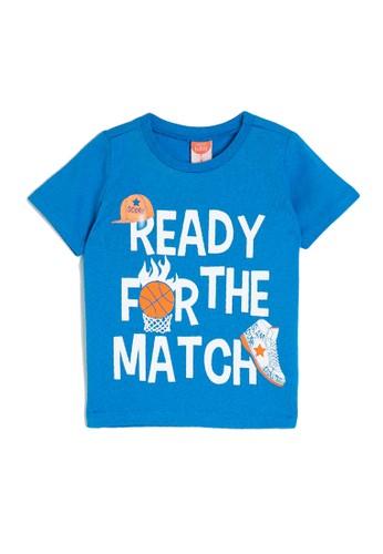 KOTON blue Casual Baby T-Shirt 05DEAKA01A1622GS_1