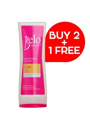 Belo pink Belo Essentials Whitening Lotion w/ SPF30 200mL Buy 2+1 FREE 7362ABE0C66FD1GS_1