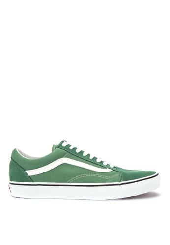 Vans green Old Skool Sneakers 800C4SH9A2D733GS_1