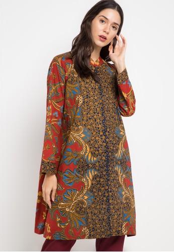 Paling Inspiratif Model Baju Gamis Batik Wanita Danar Hadi ...