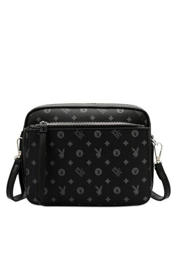 PLAYBOY BUNNY black Sling Bag 0BF8CACC659859GS_1