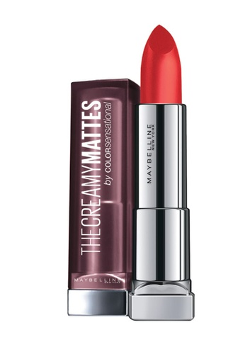 Maybelline red Maybelline Color Sensational The Creamy Mattes - Craving Coral 59ED0BE01218A8GS_1