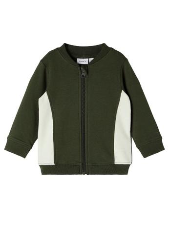 NAME IT green Nick Sweat Sweatshirt 13268KA97A8087GS_1