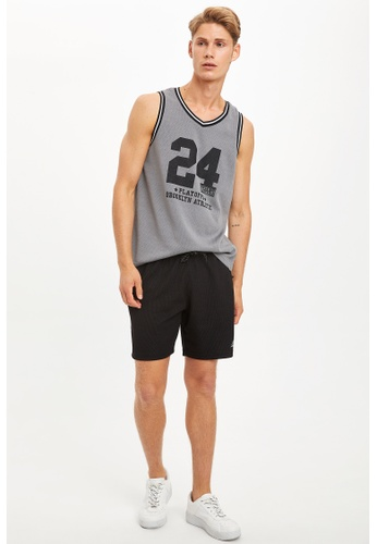 DeFacto black Man Knitted Short C1483AA0695F2AGS_1