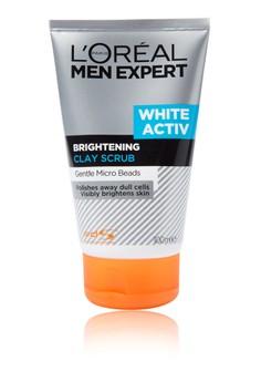 Men Expert White Active Clay Scrub 100ML