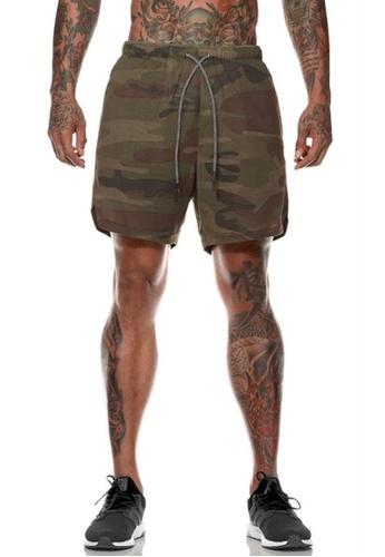 Twenty Eight Shoes green VANSA  Casual Double Layer Sports Shorts VCM-St063 78801AAEFA0858GS_1
