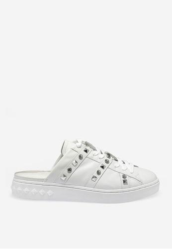 ASH 白色 Party -白色人造鑽石運動鞋 3AA35SH9F2B0FFGS_1