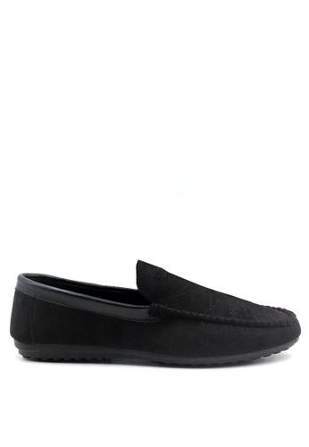 London Fashion black Quinten 8802 Casual   LO229SH78ZMNPH_1