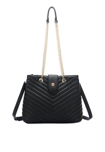 Wild Channel black Casual Sling Bag 183E6AC2F7F27AGS_1