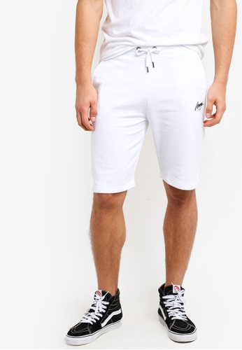 Wrung white Classic Shorts WR395AA70MQFMY_1