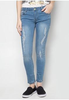 Ladies Pants With Embro