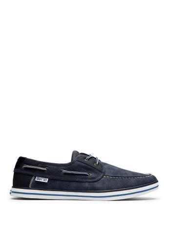 Kenneth Cole New York navy PRIZE WINNER - Boat Shoes KE615SH39ADKMY_1