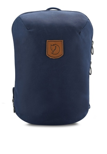 Fjallraven Kanken navy Navy Kiruna Small Backpack FJ382AC0RH1TMY_1