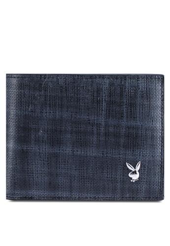 Playboy grey Rfid Blocking Bi-Fold Wallet 2239EAC33FD718GS_1