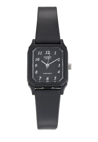 Casio black Casio Ladies Analog Rubber Watch CA843AC69CSSMY_1