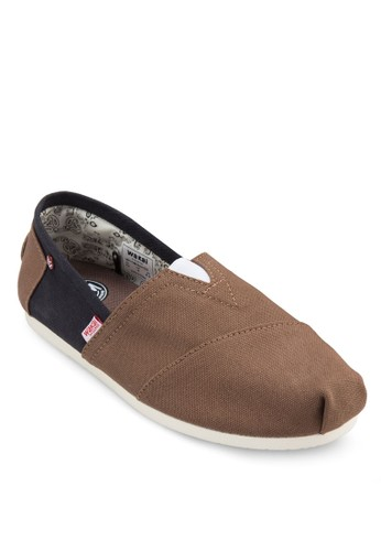 Itzaesprit 香港 色塊懶人鞋, 鞋, 鞋