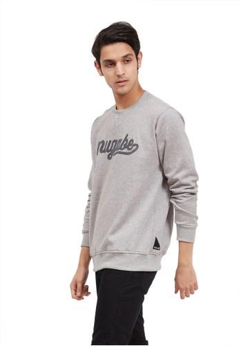 MUGABE grey MUGABE Sweater Pria mardo grey AB9E9AA0A98EA0GS_1