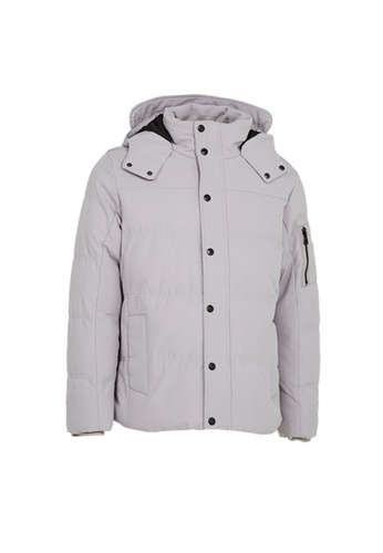 Universal Traveller grey Universal Traveller Classic Padded Jacket With Webbing Storm Flap - PJ 9028 918B4AAD8109D2GS_1