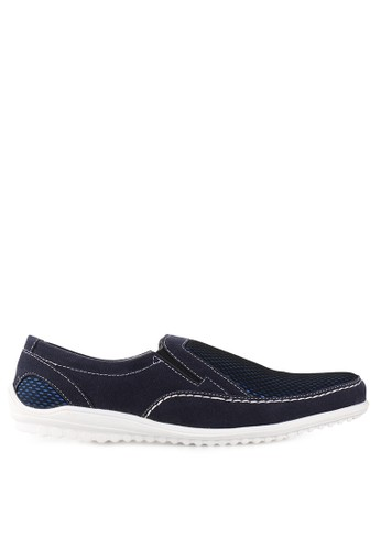 Dr. Kevin navy Loafers, Moccasins & Boat Shoes Shoes 13239 DR982SH57SEWID_1