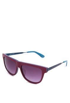 0d3b93b2739 Levi s red Full Rim Plastic Frame Wayfarer Sunglasses   LV92013455    LE892GL52JELPH 1